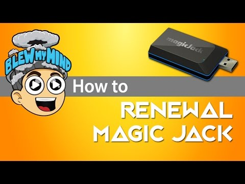 Magic Jack Renewal Process - Very Important Information!