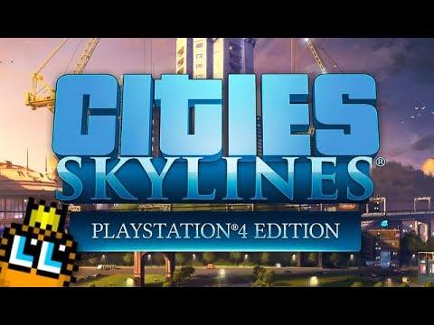 Cities: Skylines PS4 Gameplay