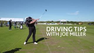 'Grip it and Rip it' with World Long Drive Champion, Joe Miller.