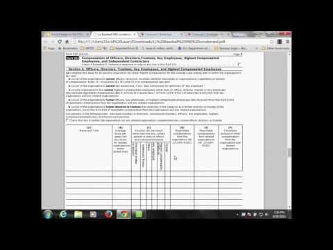 Record Keeping for Small Non Profit Organizations