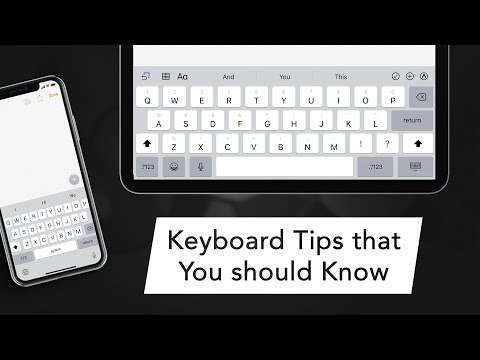 Keyboard Tips and Tricks for iPhone and iPad You Should Know
