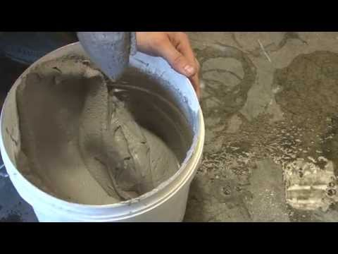 How to mix refractory mortar by hand - ABC Ovens