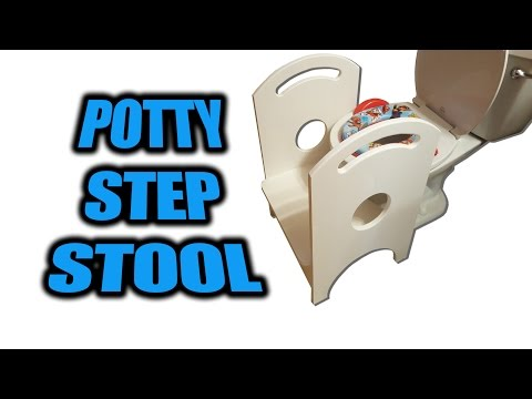 How to Build a Potty Step Stool