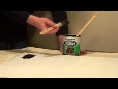 Chalkboard Paint - How to Make a Chalkboard