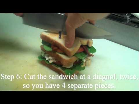 How to make a: Turkey Club Sandwich