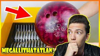 EZ A GÉP BÁRMIT ELPUSZTÍT A VILÁGON! :O / Shredding Machine reakció