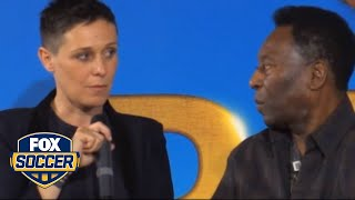 Pele names best soccer player in the world today