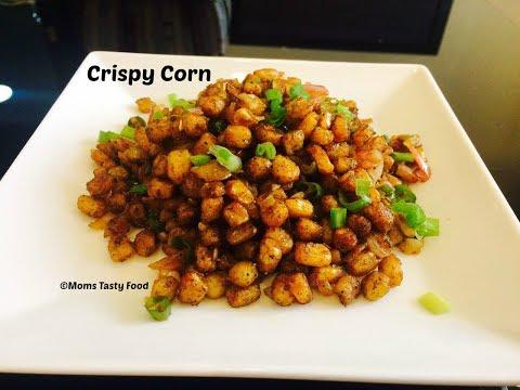 Crispy Corn Recipe - Spicy Crispy Fried Corn Recipe - Tea Time Snack