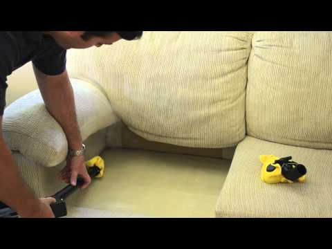 How To Steam Treat A Sofa Infested With Bed Bugs