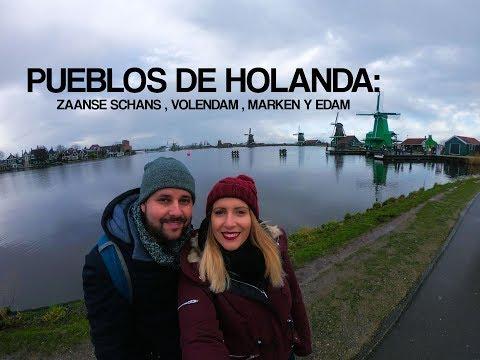 Holanda 1# : Zaanse Schans, Volendam , Marken y Edam