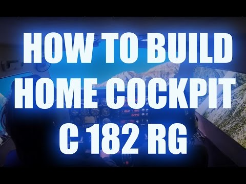 How to build an easy Cessna home cockpit