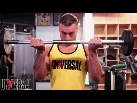 Adam's Anecdotes: The Barbell Curl