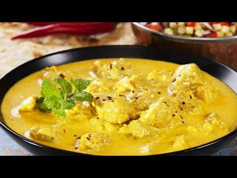 Mango Chicken Curry Recipe | How To Make Mango Chicken Curry