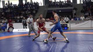 YAÇ-2016 / Nəsir Həsənov - Cavid Yusifov / yunan-Roma, 76 kq FİNAL
