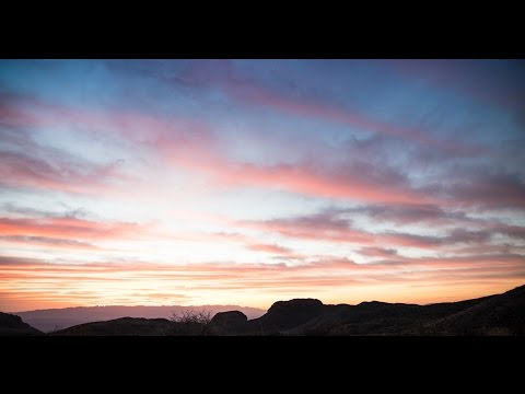 Temporal Glow - A Time Lapse Journey at Big Bend National Park - Watch it in 4k