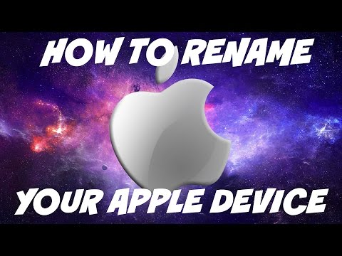 How To Rename Your Apple Device | HD