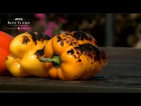 How to Roast Peppers on the Barbecue