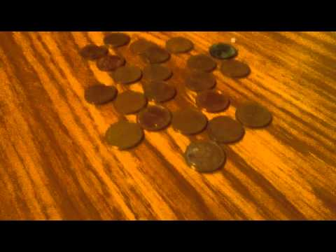Melting copper pennies