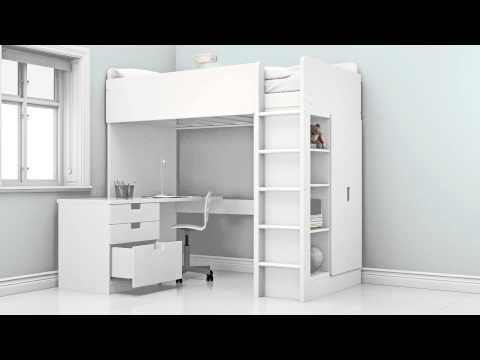 The possibilities of the new STUVA children's loft bed