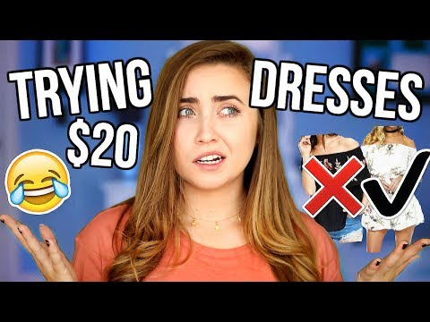 Trying On Dresses Under $20! Cheap Clothing Tested!