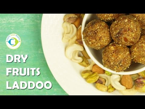 Dry Fruits Laddoo for Babies, Toddlers, Kids, Pregnant or Lactating Women -