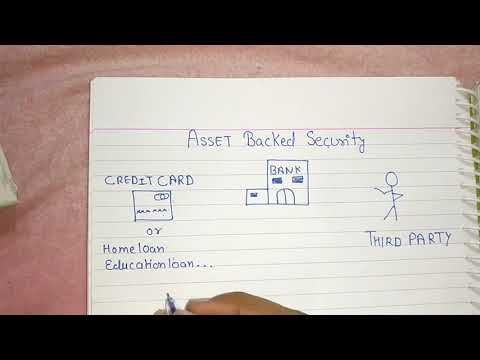 Asset Backed securities   Account receivable  Account payable