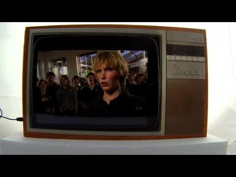 Retro DUST TV Ipad holder ABC Iview App Lockie Leonard