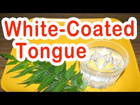 Home Remedy for White-Coated Tongue