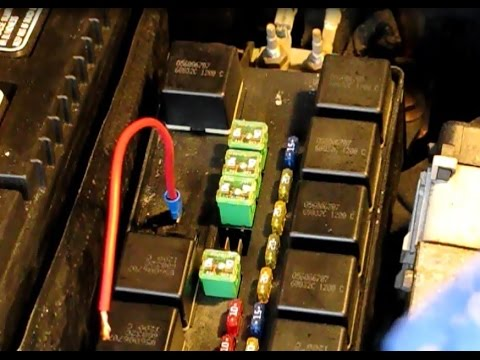 When your car won't crank or start part 3: How to check relays, fuses, switches and wires