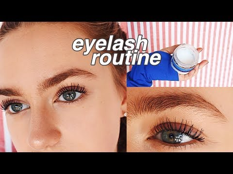Eyelash/Mascara Routine!! | How To Get Long & Curly Lashes