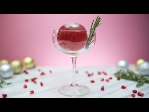 Impress Your Guests With This Cocktail-Filled Ice Ball!