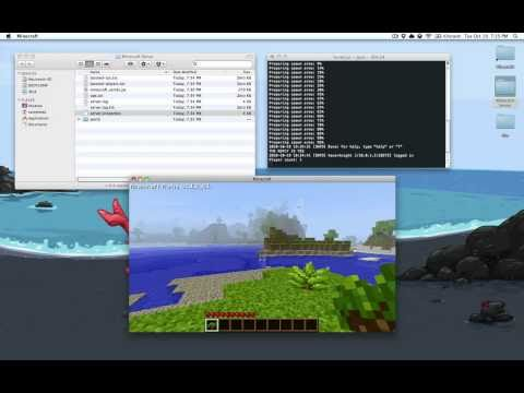 Setting up a Minecraft Server in Mac OS X