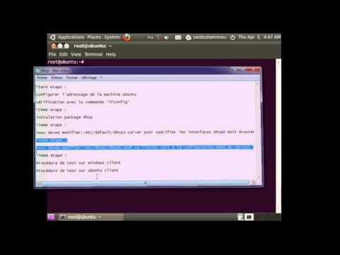 How to Configure a DHCP server on ubuntu