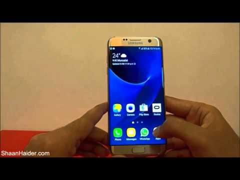 Samsung Galaxy S7 Edge - How to Take Screenshot ( Three Methods )