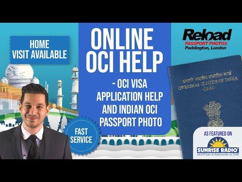 OCI Visa Application help and Indian OCI Passport Photos next to VFS Global Paddington