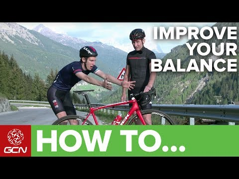 How To Improve Your Balance On A Bike | GCN's Pro Tips