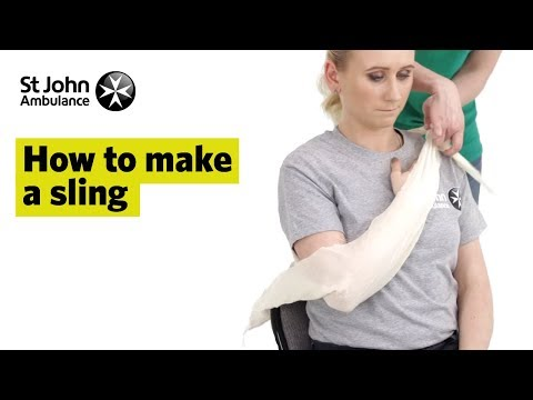 How to Make A Sling - First Aid Training - St John Ambulance