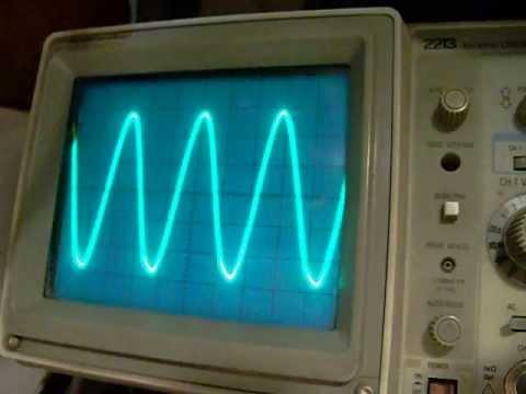 741 sine wave (Wien bridge) oscillator (typical problems)