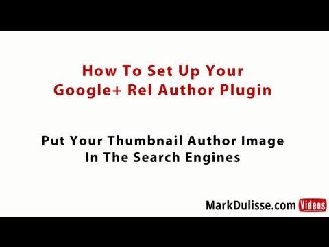 Free Google Plus Rel Author WP Plugin