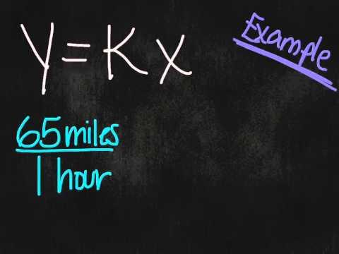 y=kx (Part 1) 7th Grade October 15