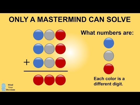 Only A Mastermind Can Solve This
