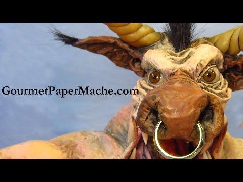 Paper Mache Minotaur