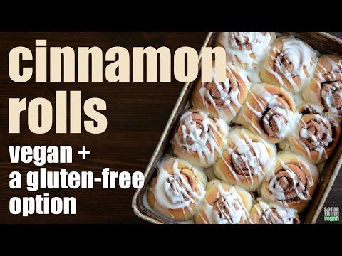 classic cinnamon rolls (vegan + a gluten-free option) Something Vegan