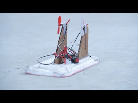 How To Make A Toy Mini Hovercraft That Fly Easy Homemade | Homemade