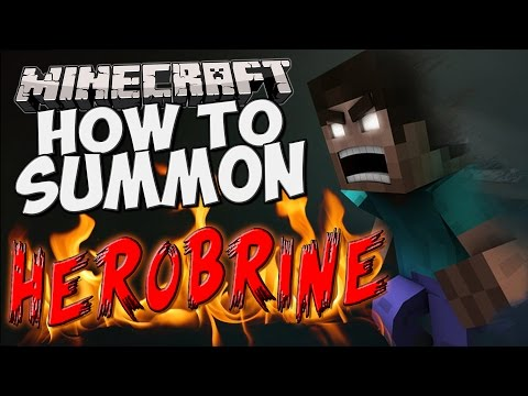 How to Summon Herobrine in Minecraft! (Only One Command