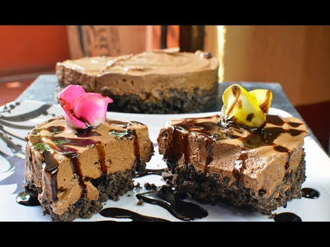 CHOCOLATE MOUSSE CAKE Without Bake/ Without Oven