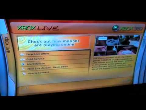 *RARE* Xbox 360 Kiosk Disc With Blades Dashboard Theme
