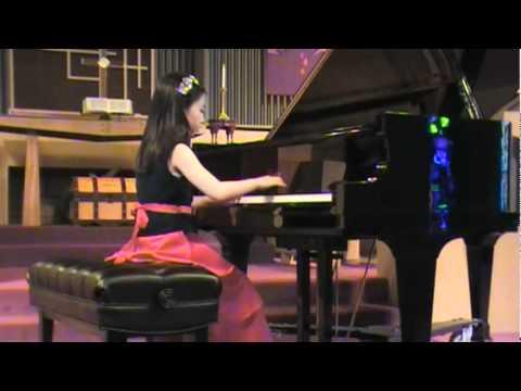 Elysha's Piano Recital 2012-3-24 Mozart Sonata K.545 Mov. I