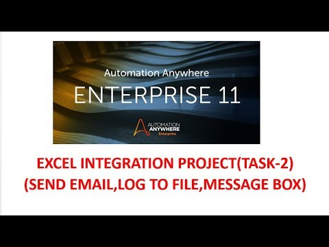 AUTOMATION ANYWHERE 11 EXCEL COMMANDS(SEND EMAIL,LOG TO FILE,READ FROM CSV\TEXT)