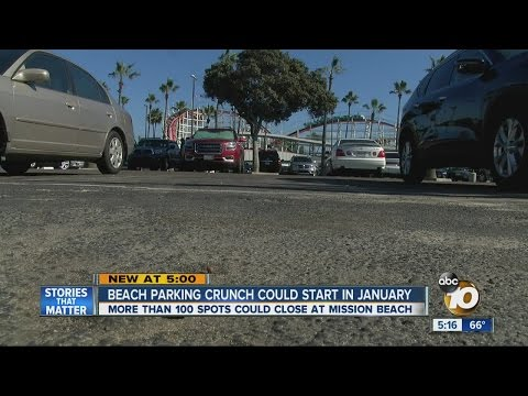 Mission Beach parking crunch could start January